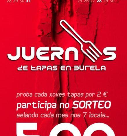 Juernes & Tapas en Burela